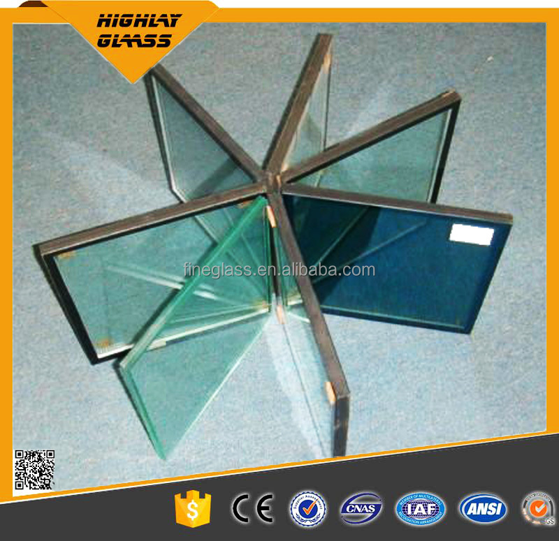 Factory Price Clear Tempered Hollow Glass For Sun Room And Greenhouse