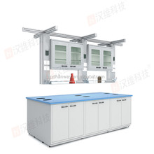 Hanway Lab Furniture High End Metal Lab Work Bench With Hanging Functional Column