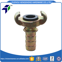 Malleable material European type air hose coupling
