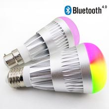 2016 hot gift items 7w wifi micro led light bulbs play by smartPhone