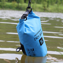 Wholesale lightweight nylon dry bag custom logo 5L 10L 15L 20L 25L PVC waterproof sport dry bag