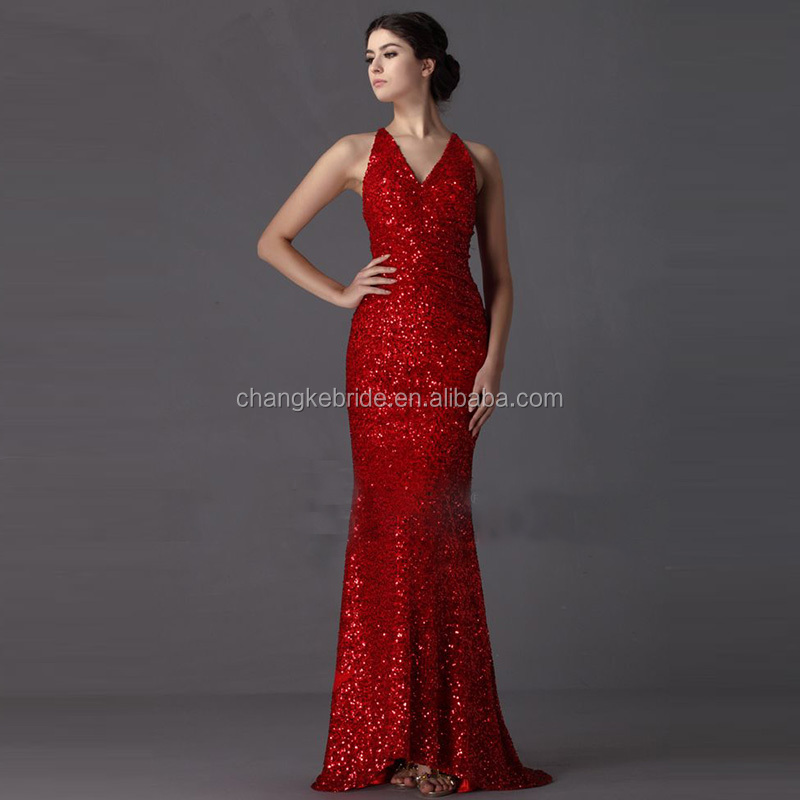 China Red Dresses Gowns 91de66dd6db6