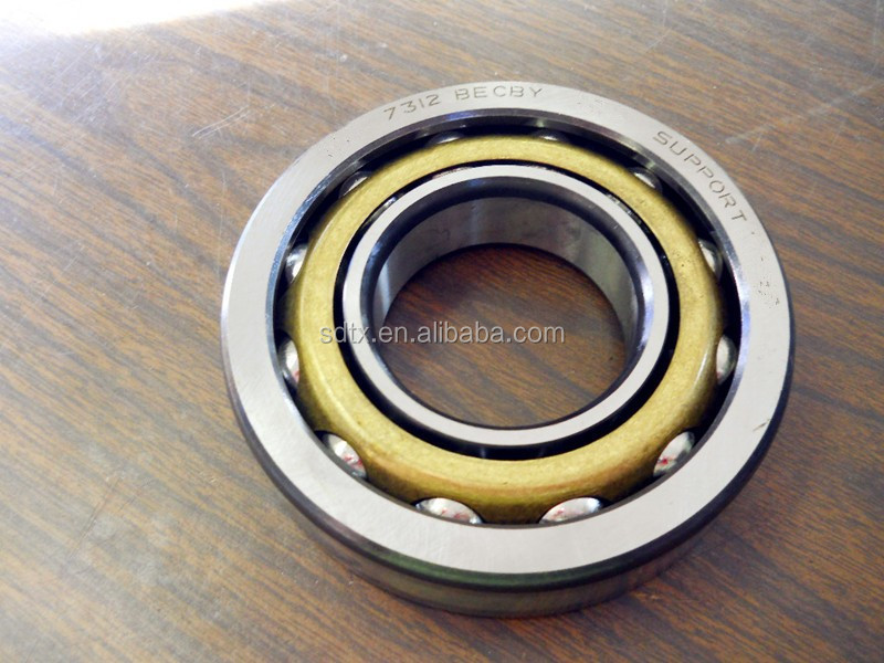 7008 size 40*68*15 mm stainless steel Fishing gear 15 double row angle Angular contact ball bearing 7008 C Duplex DB/DF/DT