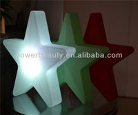 outdoor inflatable led star decoration for party