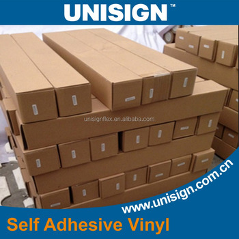 Unisign car body sticker monomeric 140gsm Self Adhesive Vinyl Roll