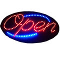led open sign for shop with led light box function static bar bar open led sign