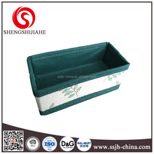 Printed Nonwoven Foldable Pencil Grid Wire Modular Shelving And Storage Cubes