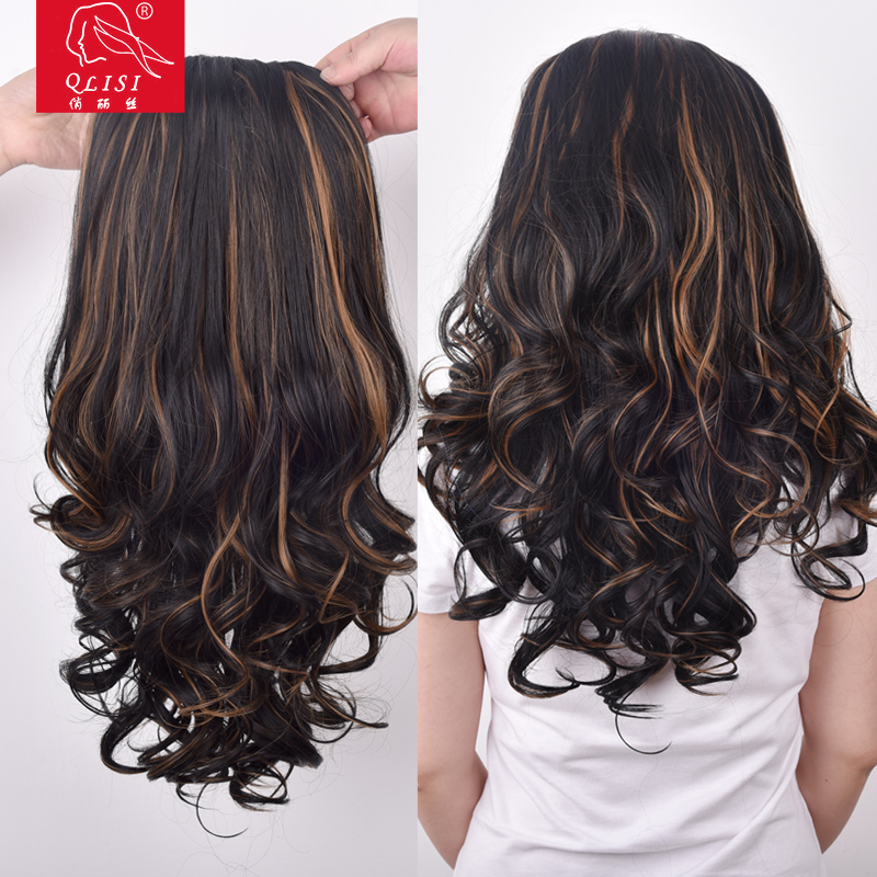 Ombre Color Body Wave Hair Piece For Black Women
