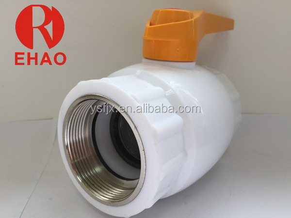 Low price hot sale plastic ppr 3 inch brass ball valve