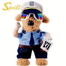 police pet dog cat cosplay cloth