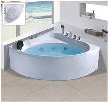 MD-KMS3135 itali free standing hydraulic massage bathtub solid surface
