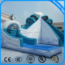 Guangqian Hippo Commercial Giant Inflatable Water Slide For Kids And Adults