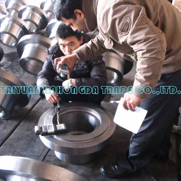 Oil industry with seamless Body Adapter Forgings