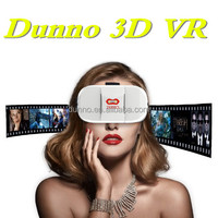 Support 3D Movie/Games/Video High Quality New Style Dunno 3D Glasses Virtual Reality VR BOX Dunno 3D VR