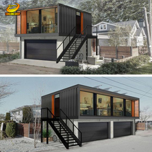Portable shipping container prefab house for sale