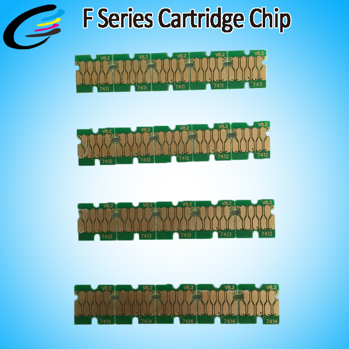 T7411 Inkjet One Time Chip for Epson SureColor F6070 F7070 Printer Cartridges