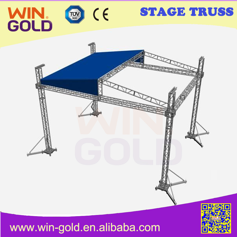 Aluminum Stage Truss Truss System Stage Equipment Stage