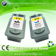 refill ink cartridge for canon 815 816