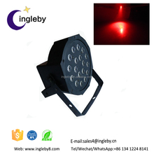 battery powered led par wireless control led stage spotlight