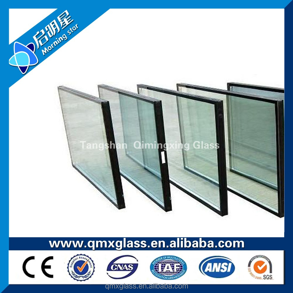 the factory in China 4mm-10mm Online/Offline Triple Low-E Glass