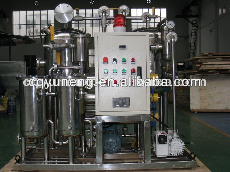 Used Mobile Compressor Oil Purification Machine/Lube Oil Refinery