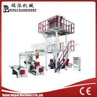 SJ-H New Design High Speed Plastic Film Extruder Blowing Machine Price