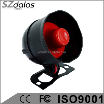 Universal 6 Tone Car Security Alarm Loud Siren Horn 12V car alarm siren
