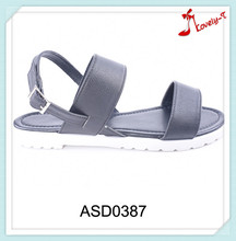 Popular designs fancy flat chinese sandals 2016 women from factory manufacturer