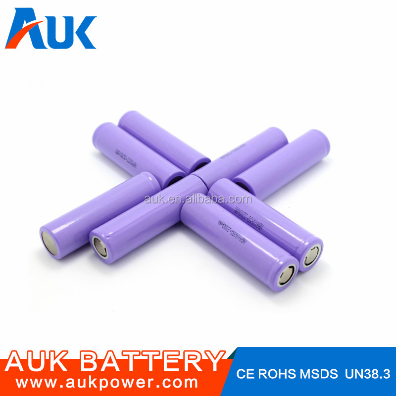 18650 2200mAh Lithium ion Battery 3.7v Li-ion Battery 4.2v Rechargeable Battery
