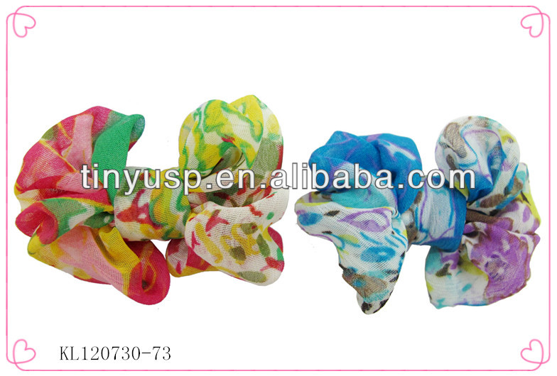 Fashion clip claw synthetic hair ponytail,claw fabric butterfly bow hair clips for girs