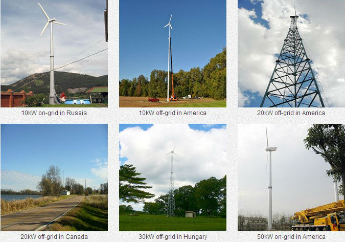 Low rpm wind turbine generator wind generator kit