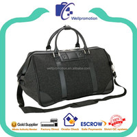 Wellpromotion canvas travel bag durable canvas duffle bag