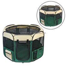 High Qualit Portable Lightweight Pet Playpen Soft Pet Travel Cage Pet Supplies Dog