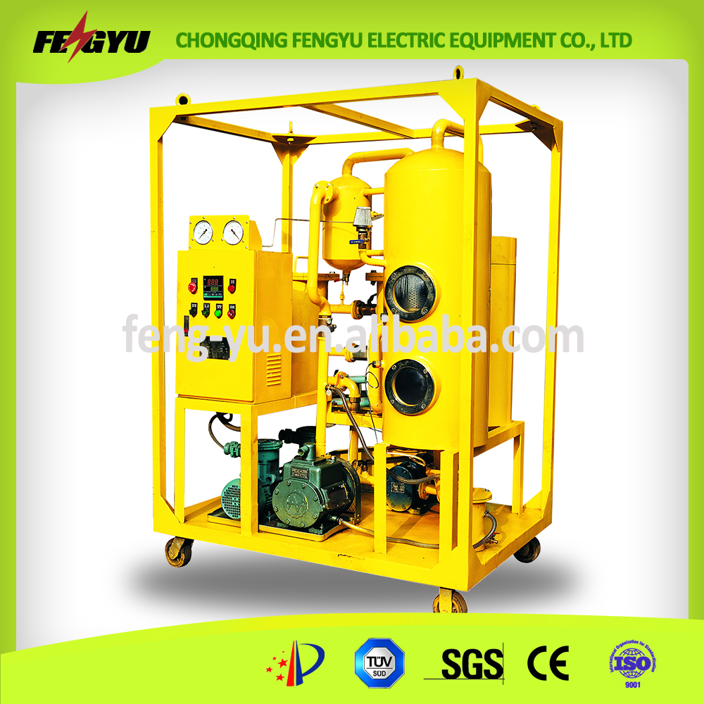Vacuum Lubricating Oil Cleaning System/Lube Oil Degassing