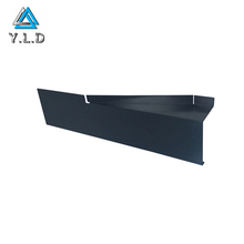 Custom Made Black Powder Coating Aluminum Sheet Metal Brackets For Different Walks Of Life