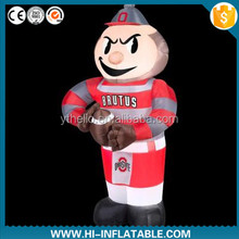 inflatable boy/figure cartoon for advertising/inflatable cartoon model