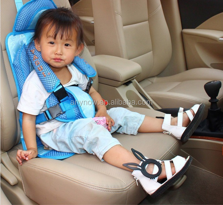 3 colors child children sitting protector head car baby safety seat belt chair
