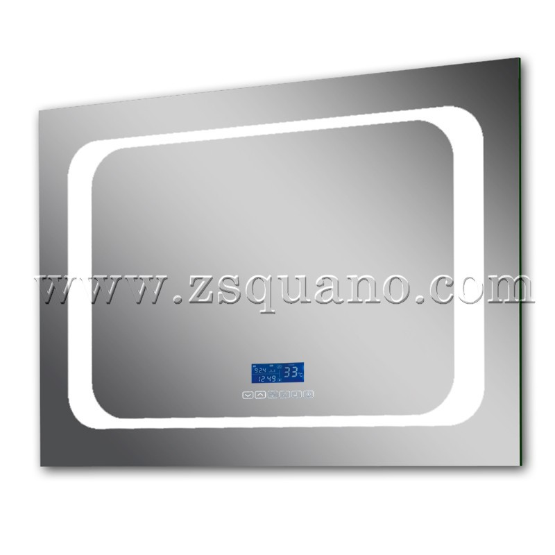 Touch Screen LED Bathroom Mirror with Radio