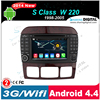 android 4.4 autoradio system with wifi support Google GPS online Navi
