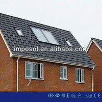 Rooftop SWH Flat Panel Energy /Plate Solar Collectors