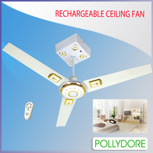 "Rechargeable celling fan with LED light. Size available:36"" 42"" 48"" 56"" 60"" 64"""