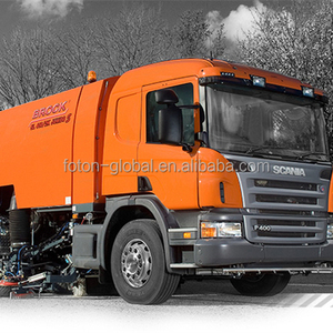 Superstructure of Germany BROCK Road Sweeper, cleaning truckVS10