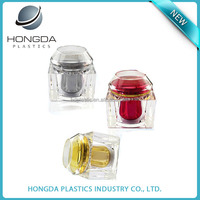 200g clear glass jar for face cream Acrylic plastic container