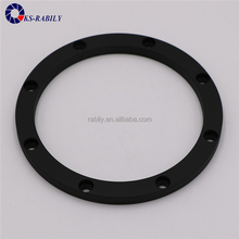 China Custom Made Aluminum Parts, Aluminium Ring, Black Anodized Parts