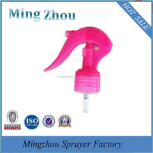 The popular factory production plastic mini trigger sprayer for mist sprayer