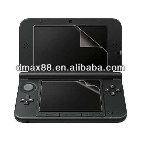 Screen protector for game player for Nintendo 3ds oem/odm (Anti-Glare)