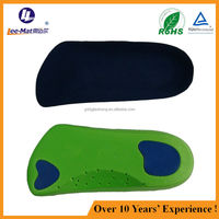 new product molded eva arch support cushions with poron pads