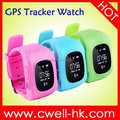 Kids GPS Watch Tracker TWATCH W5 Real-time tracking and monitoring SOS Button Sleep Monitoring Predometer Removal Alarm