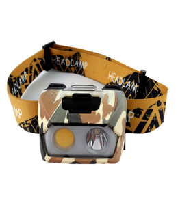 New DIY 5W Outdoor USB Rechargeable COB Led Warning Headlamp Head Cap Hat Light Camping Hunting Hiking