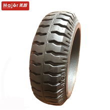 6 inch solid rubber have load forklift tire agv wheel for hand trolley truck